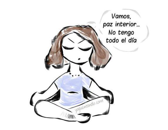 paz interior yoga divertido