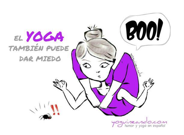 el yoga tambien puede dar miedo 2017 YoguineandoT