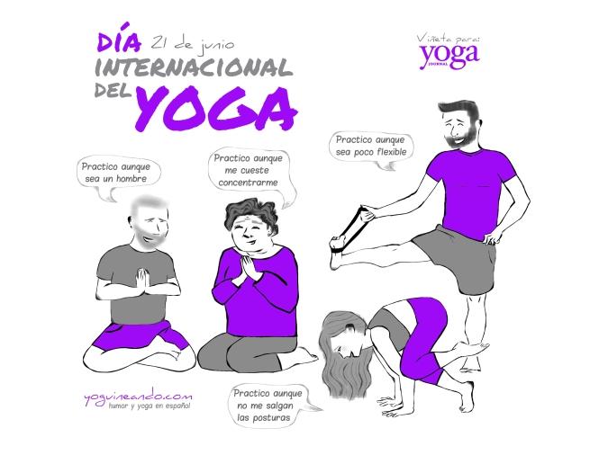 Dia Internacional del yoga YoguineandoT