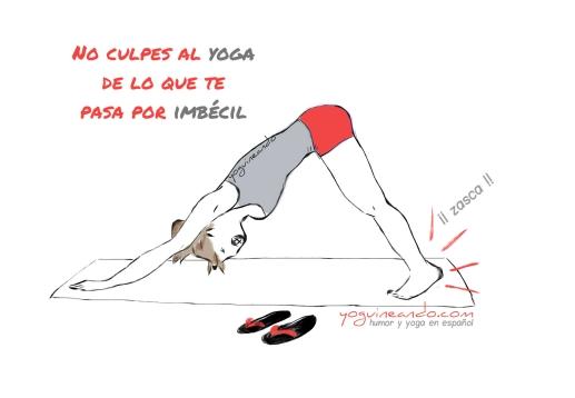 no culpes al yoga YoguineandoT